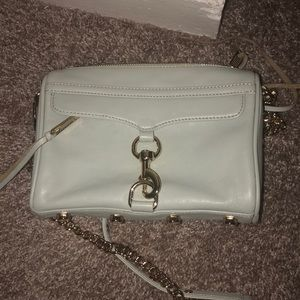 Mint Rebecca Minkoff crossbody purse